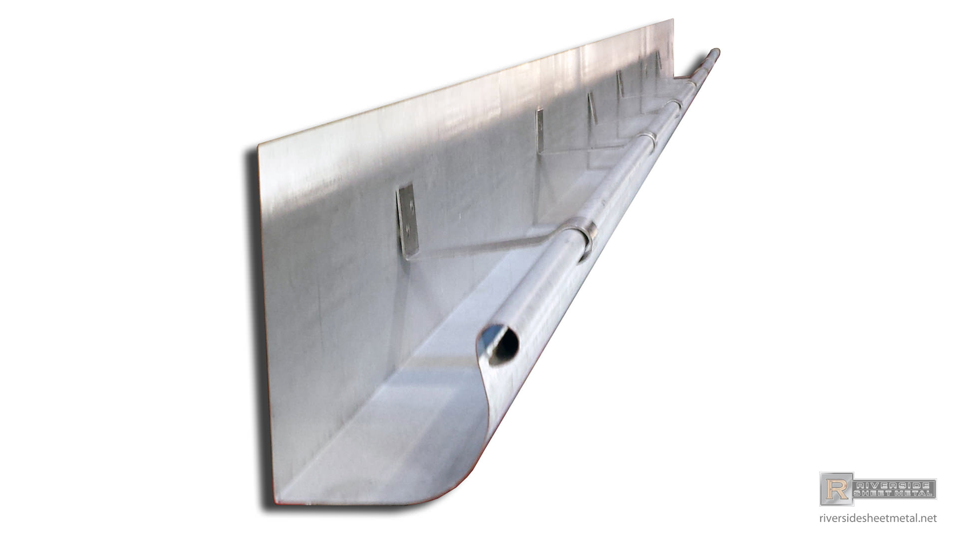 Half Round Gutters Copper Aluminum Zinc Lcc Single