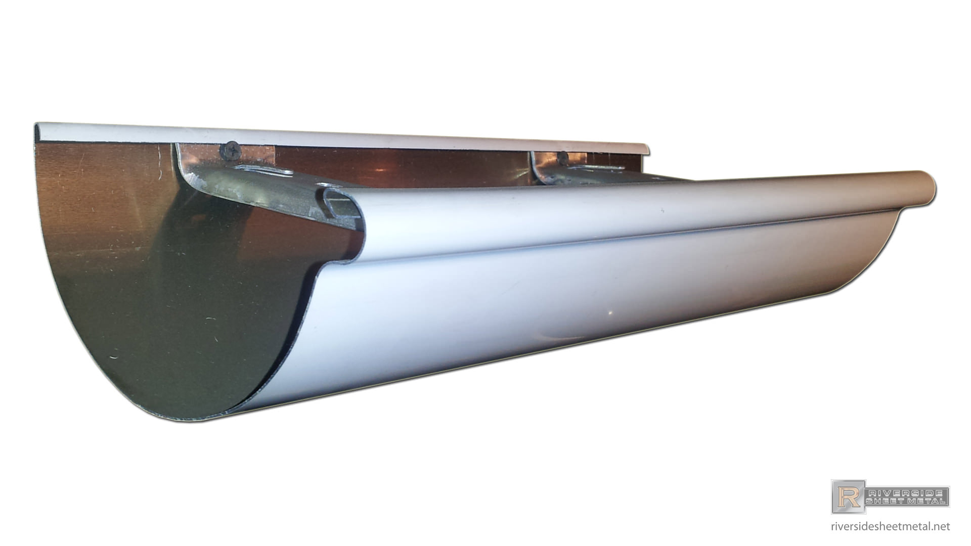 Half Round Gutters Copper Aluminum Single Double Bead