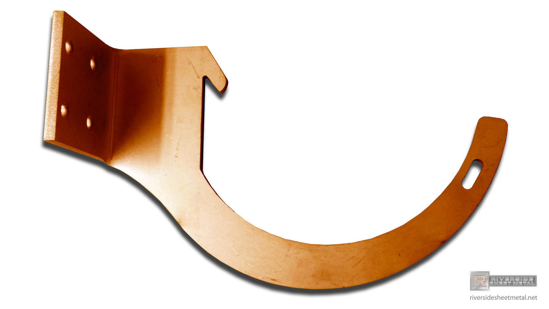 Custom Gutter Hangers Amp Brackets Box K Style And Half Round
