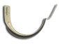 Stamped 0.032 double layer bronze aluminum half-round gutter hanger