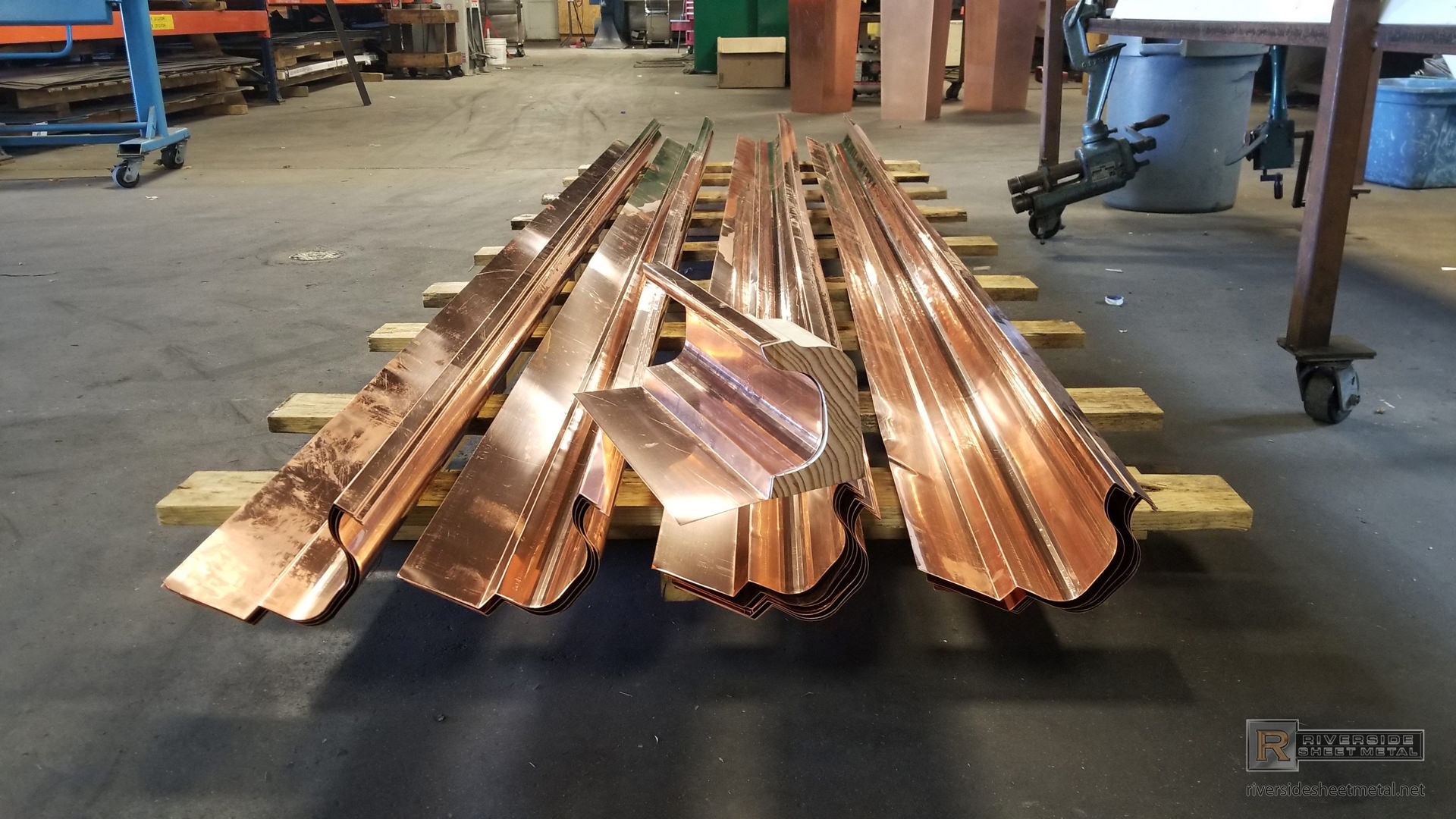 Gutter Liners Custom Made For Wooden Gutters Copper Amp More
