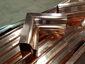 Custom copper ogee gutter inside box miter - view 1