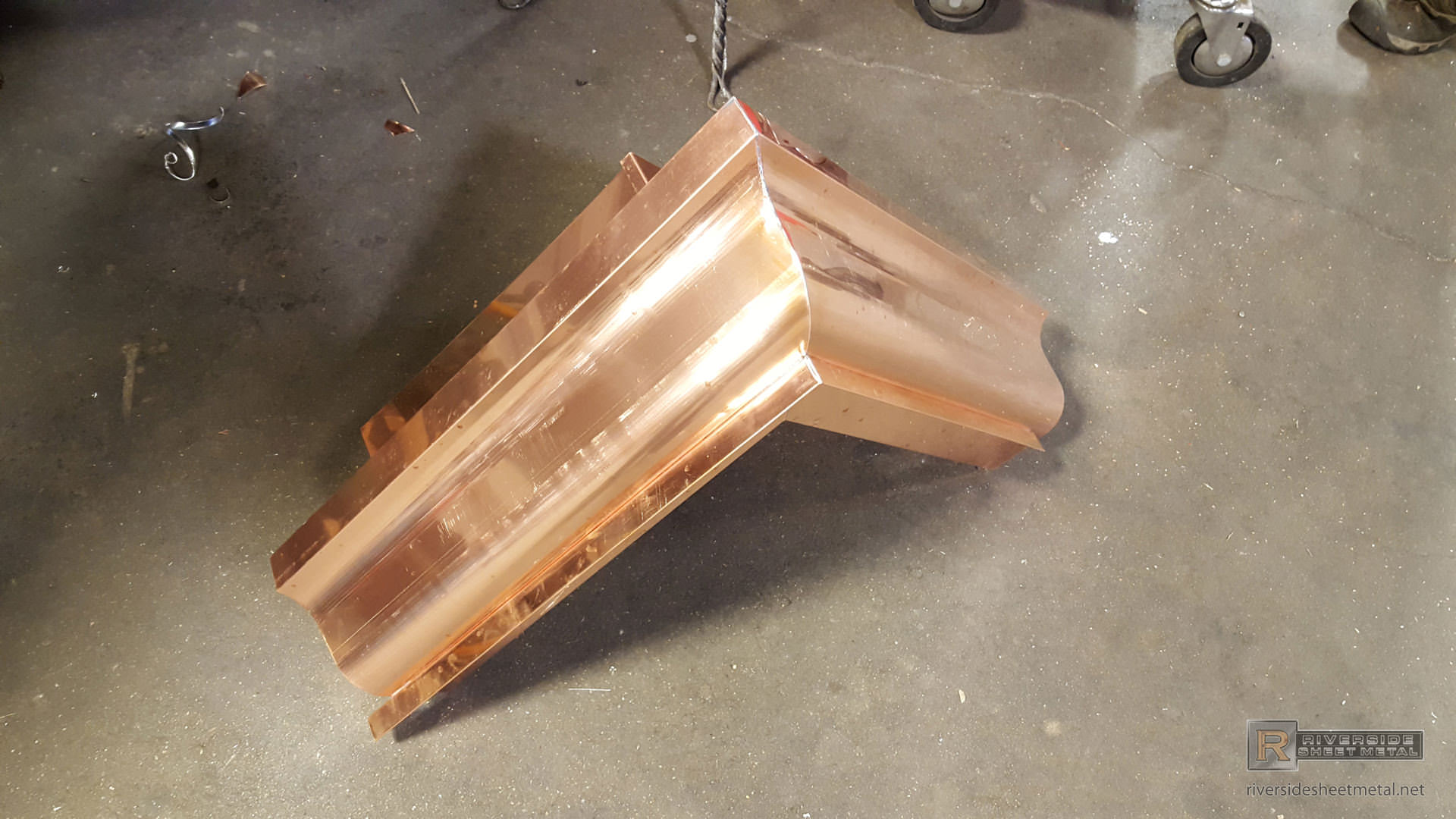 Gutter Miters Aluminum Copper Box Strip Bay And Custom