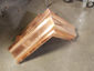 Custom copper ogee gutter outside box miter - view 5