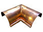 Half-round gutter inside box miter copper - view 3