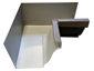 K-style gutter inside box miter bronze aluminum - view 2