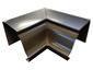 K-style gutter inside box miter bronze aluminum - view 3