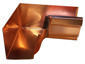 K-style gutter inside box miter copper - view 2