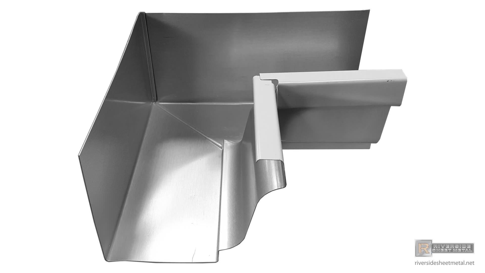 5 Quot Amp 6 Quot K Style Gutter Aluminum Or Copper Inside Box