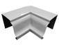 K-style gutter inside box miter white aluminum - view 3