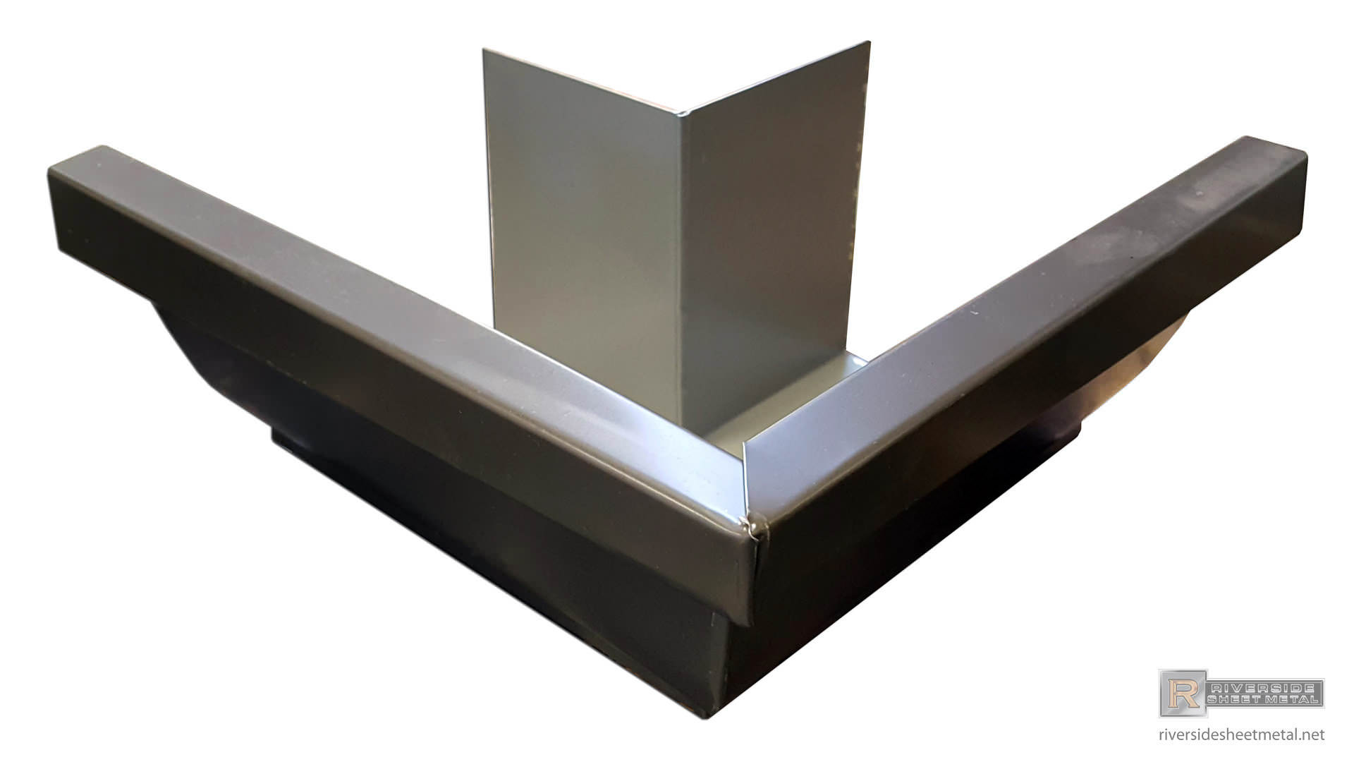 5 Quot Amp 6 Quot K Style Bronze Aluminum Outside Box Miter 90 176