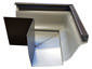 K-style gutter outside box miter bronze aluminum - view 2