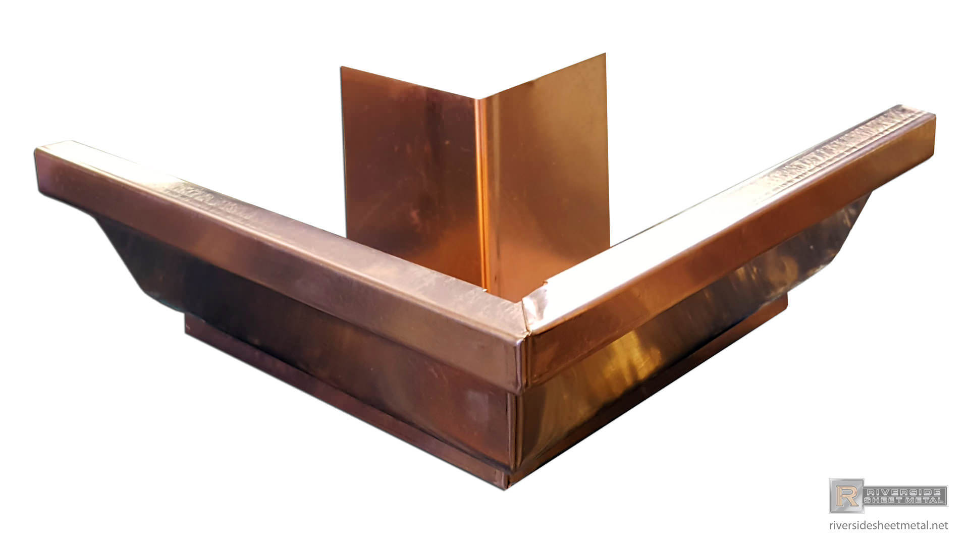 5 Quot Amp 6 Quot K Style Copper Outside Box Miter 90 176