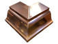 K-style gutter outside box miter copper - view 3