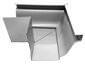 K-style gutter outside box miter white aluminum - view 2