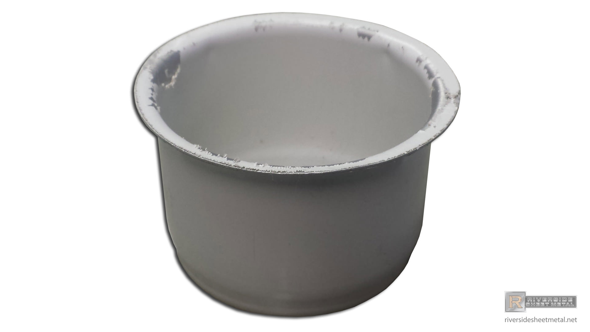 Round Snap In Aluminum Gutter Outlet 2 375 Quot And 2 75 Quot