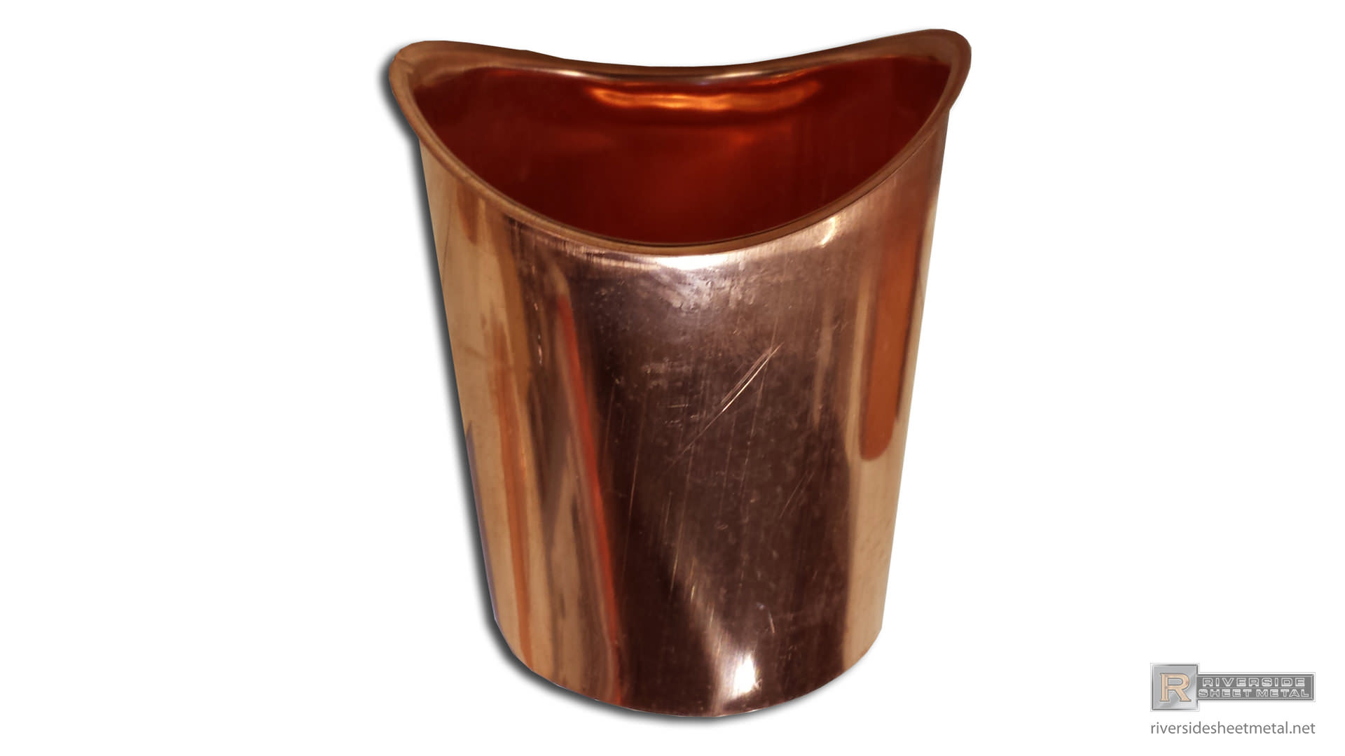 Half Round Copper Or Aluminum Gutter Outlet 3 Quot And 4 Quot