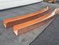 Custom radius copper box gutter - view 1