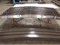 Custom radius bronze aluminum box gutter - view 3