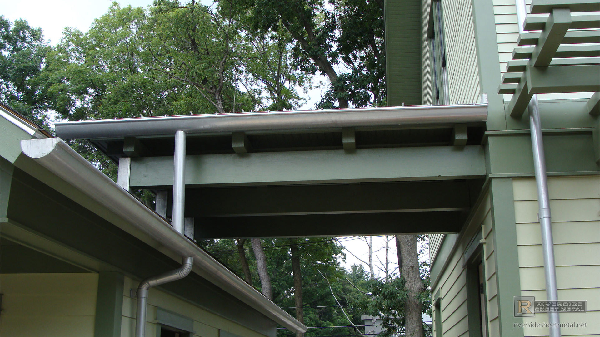 5 Quot Single Bead Tcsii Half Round Gutter Ma
