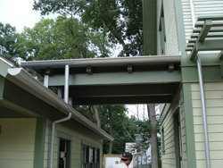 TCSII half-round single bead gutter installation