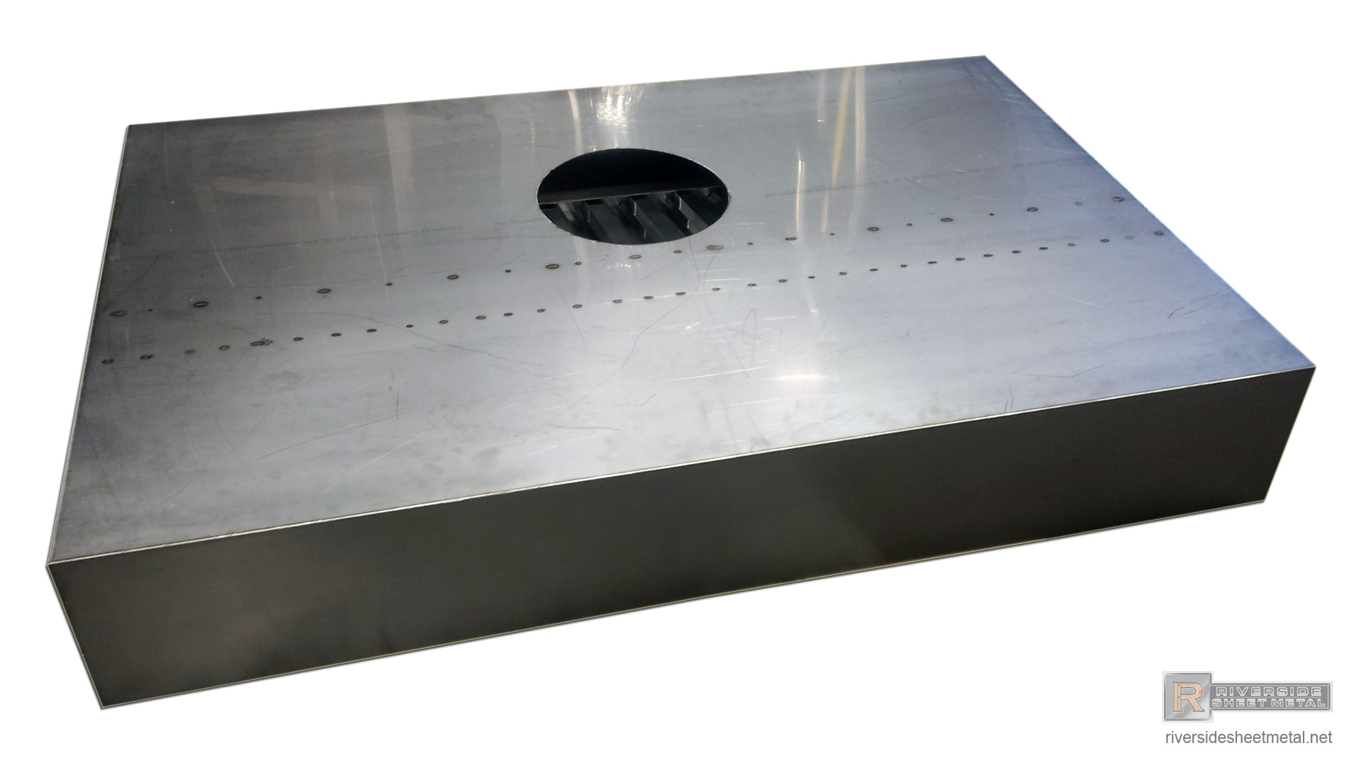 awesome Kitchen Vent Hood Inserts #8: ... Custom industrial kitchen hood vent