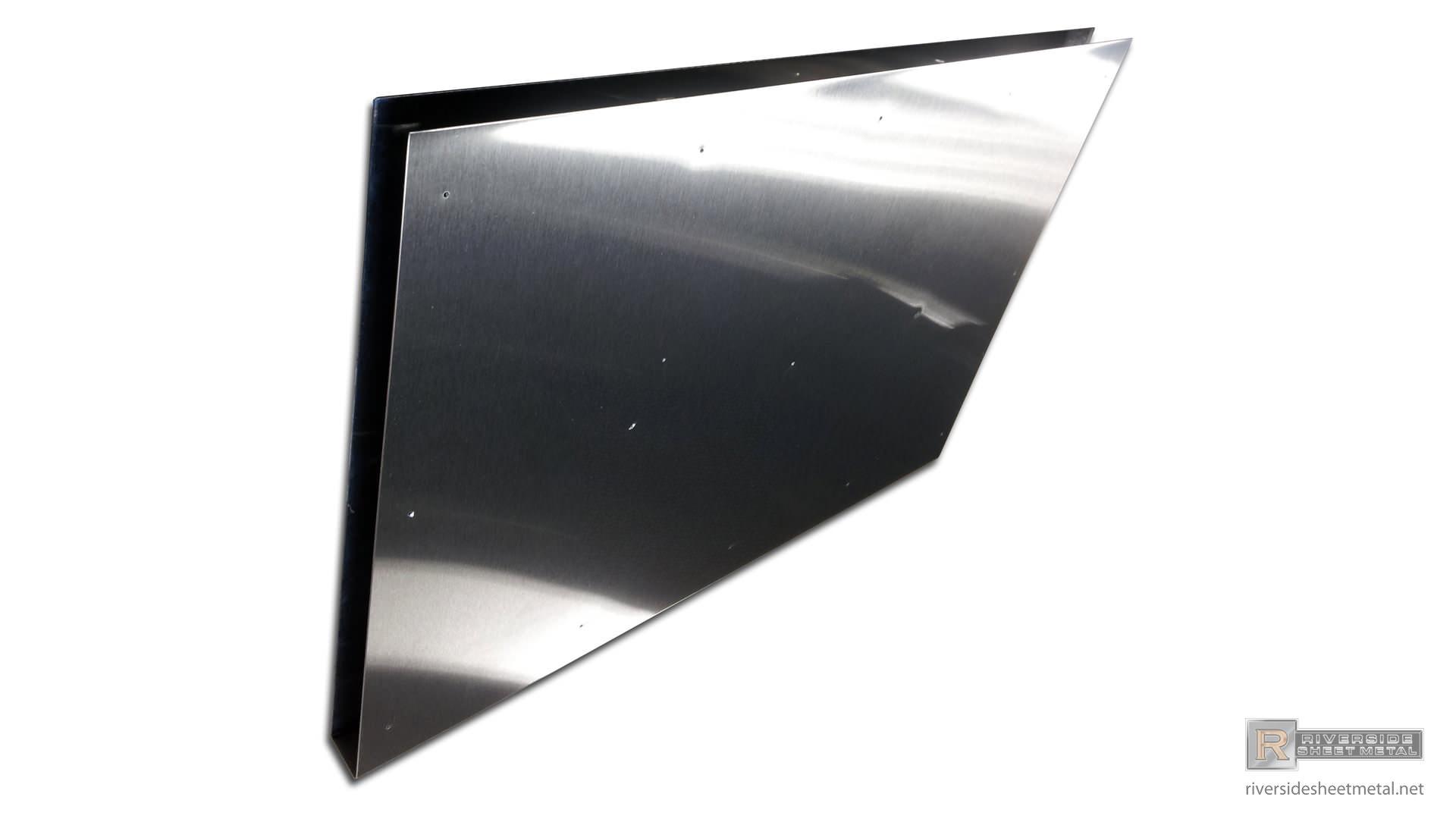Door kick plate - Riverside Sheet Metal - USA