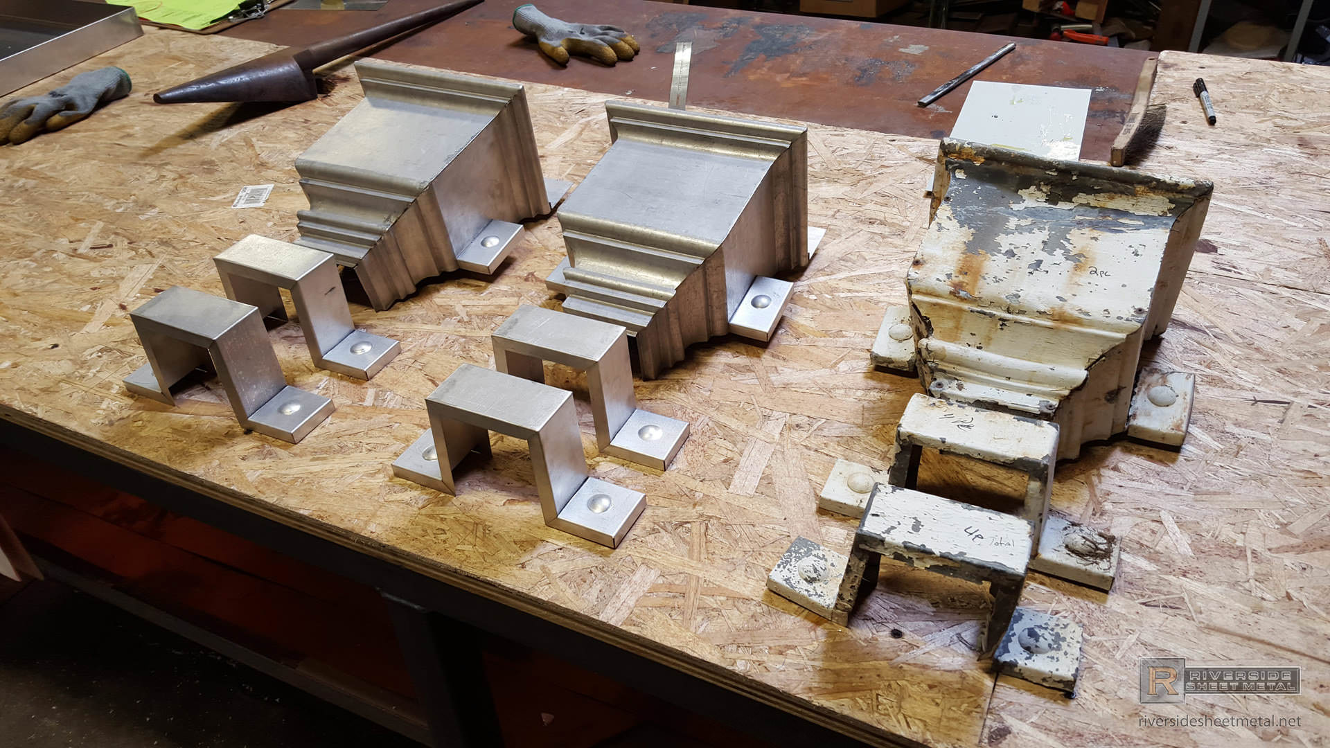 Custom Leader Heads Amp Collector Boxes Riverside Boston Ma