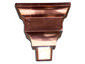 Federal style copper leader head - view 3