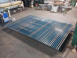 Custom steel louver