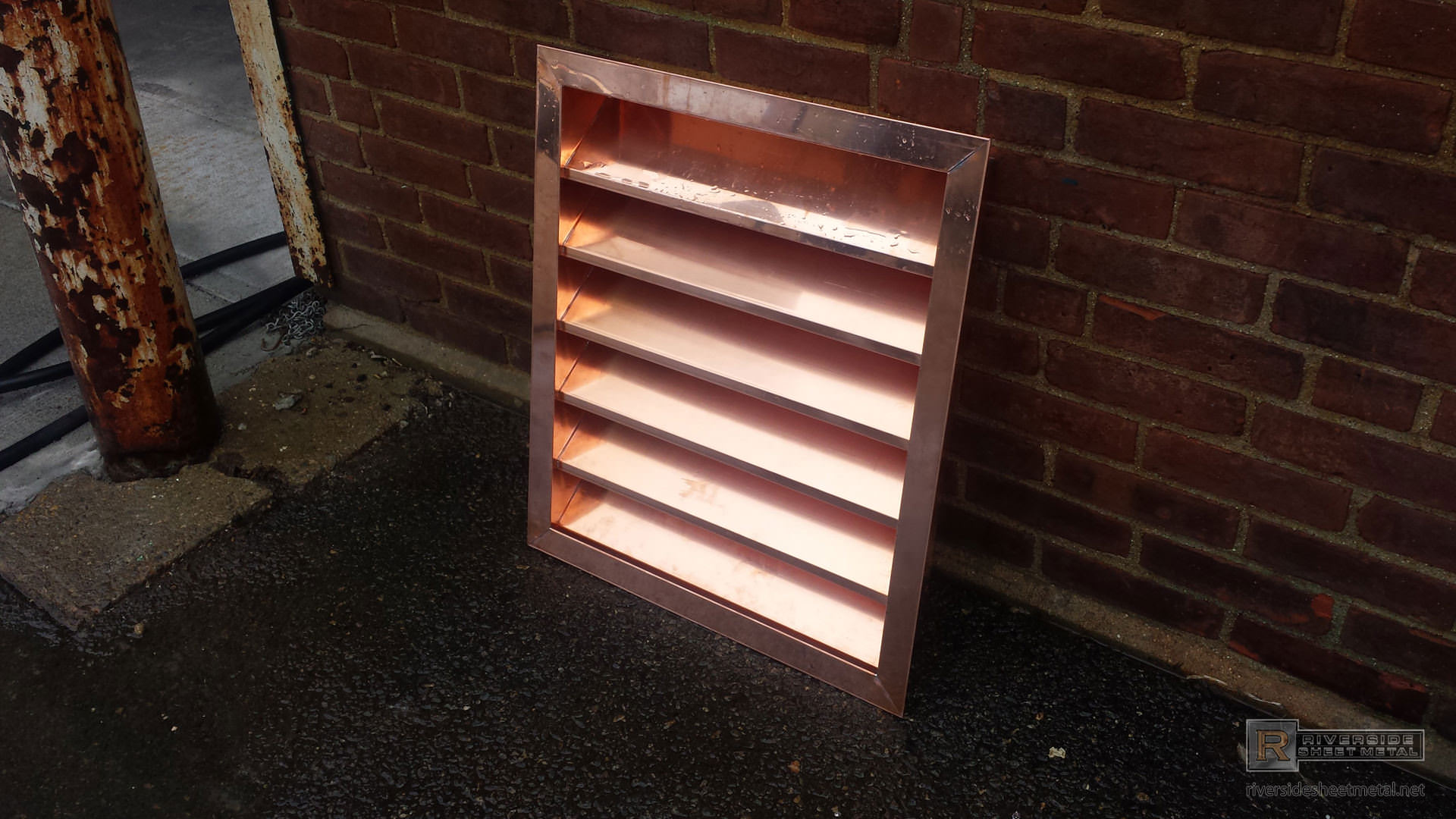 Copper Louver Custom Products Riverside