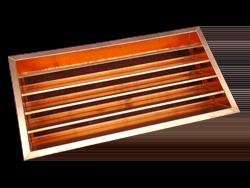 Custom made copper louver