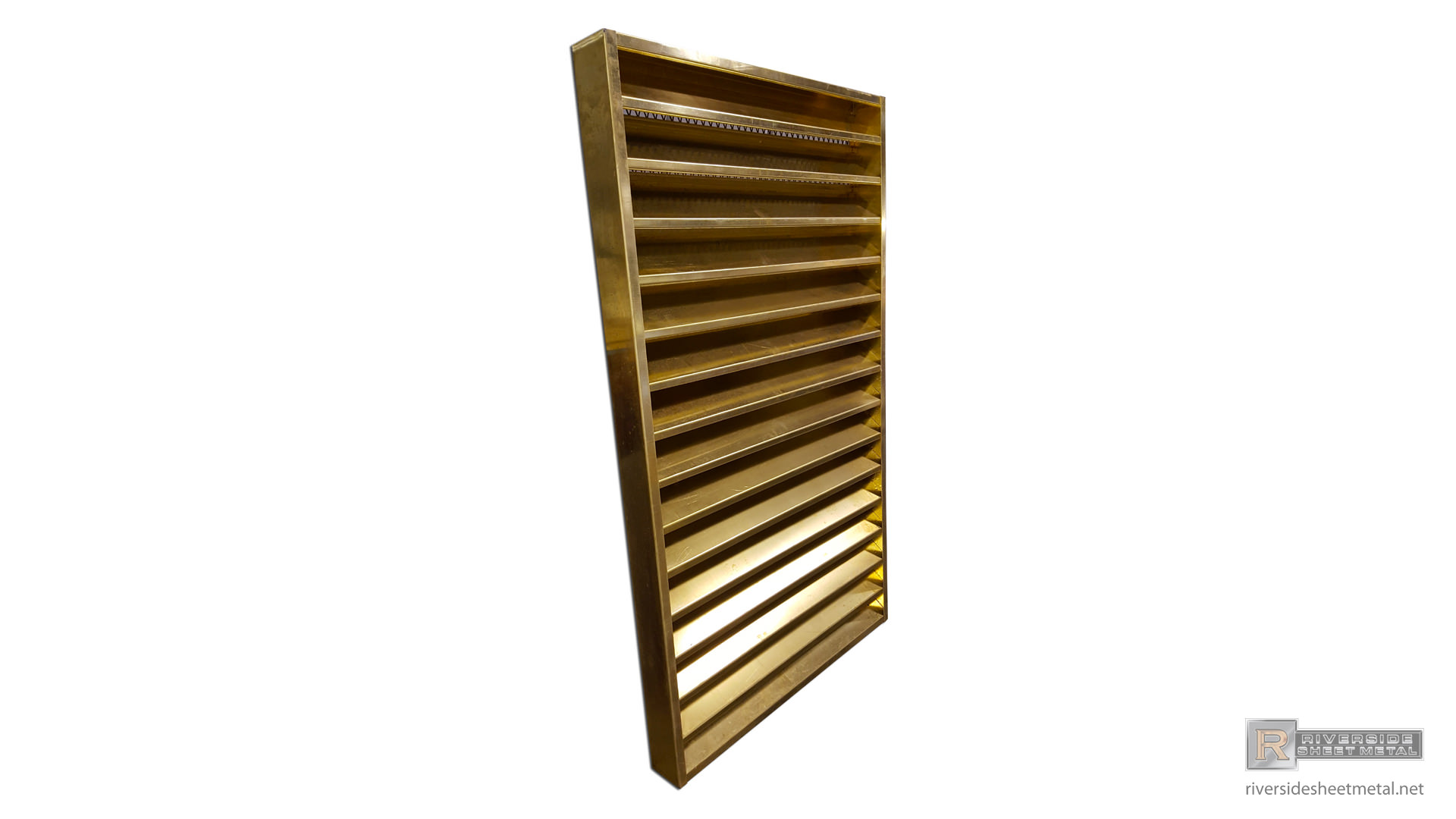 Brass Louver Custom Made To Order Riverside