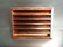 Custom made copper louver
