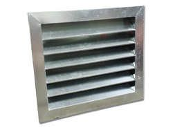 Galvanized steel custom made louver