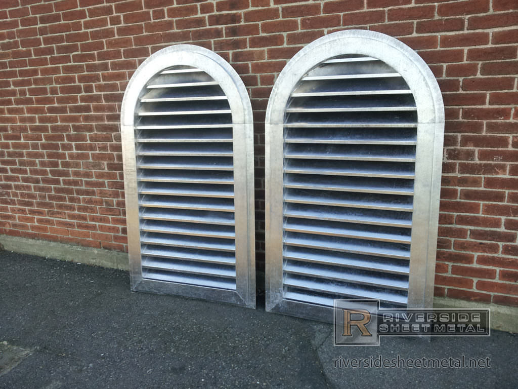 Louvers Custom Fabricated Copper Stainless Steel Zinc
