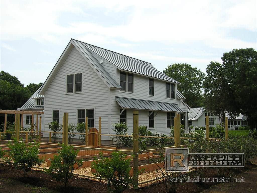 Aluminum Dove Gray Metal Roof Metal Roofing
