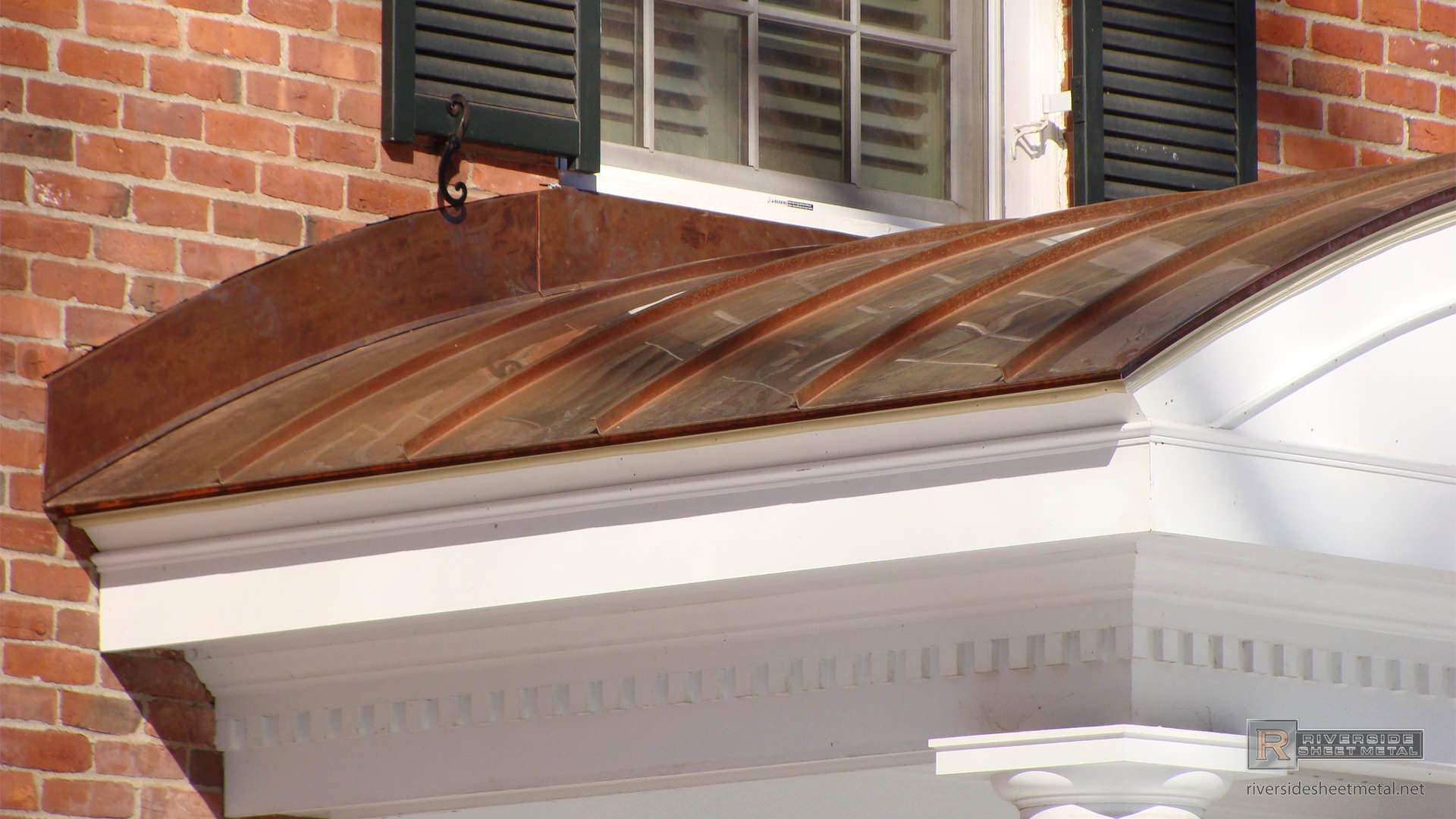 Radius Copper Metal Roofing Panels Metal Roofing