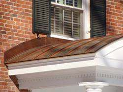 Radius copper panels