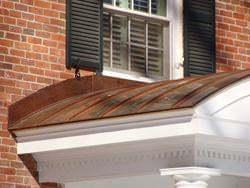 Radius copper panels