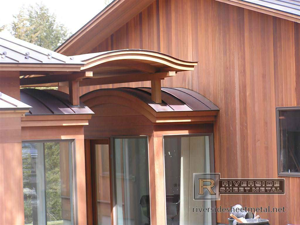 ... Radius Copper Roof