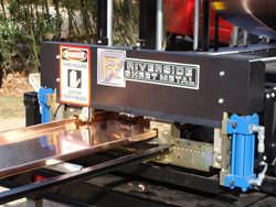Standing seam copper panel