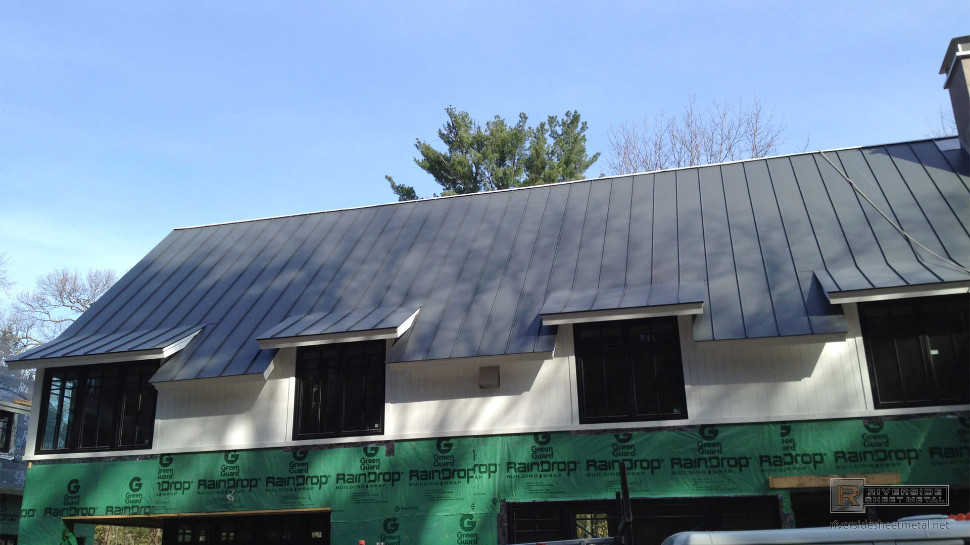 Aluminum Metal Roof Gray With Different Angles Ma Ri Nh Me