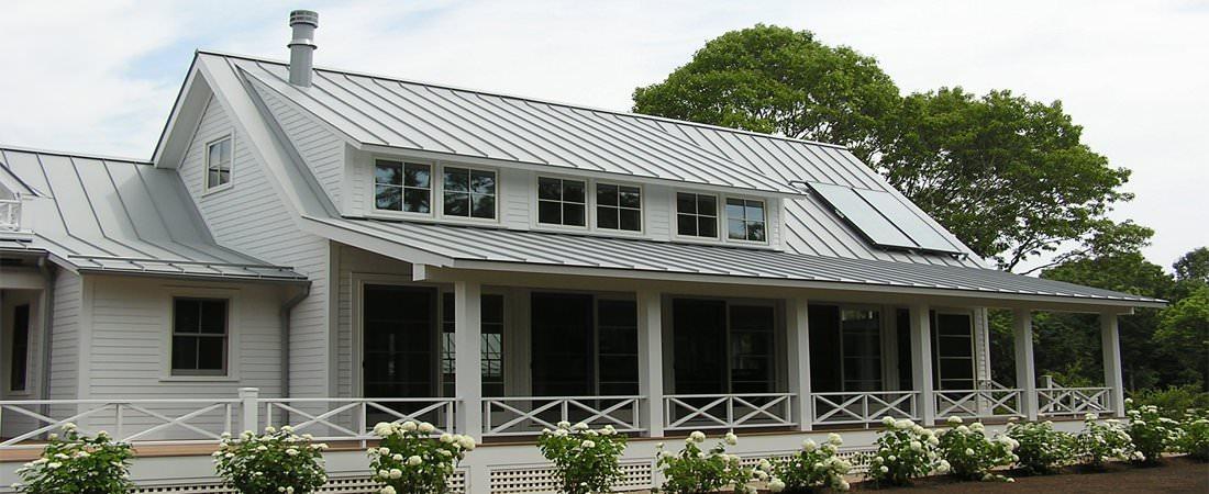Aluminum stading seam panels