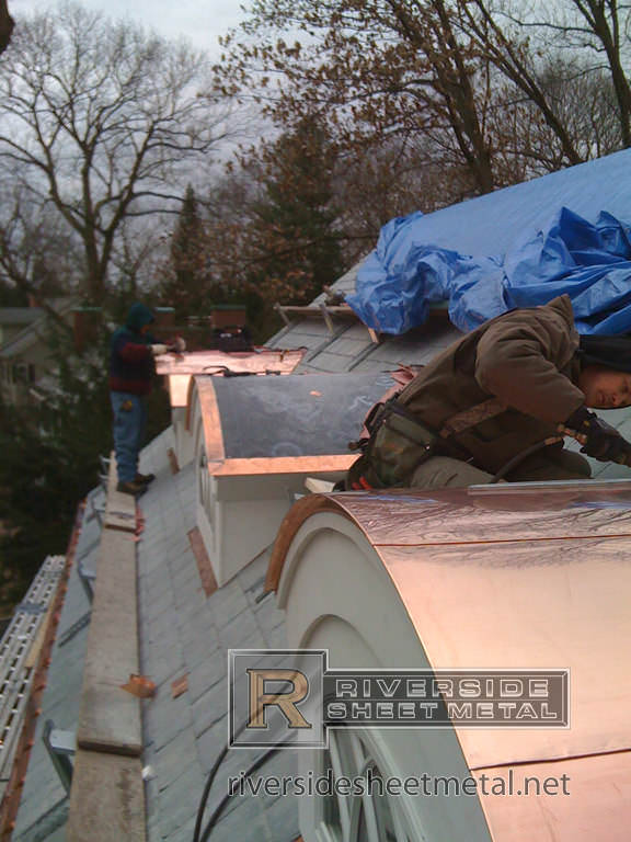Metal Roofing Fabrication Amp Installation Copper Zinc