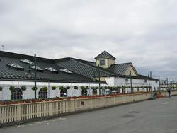 Aluminun roof with skylights