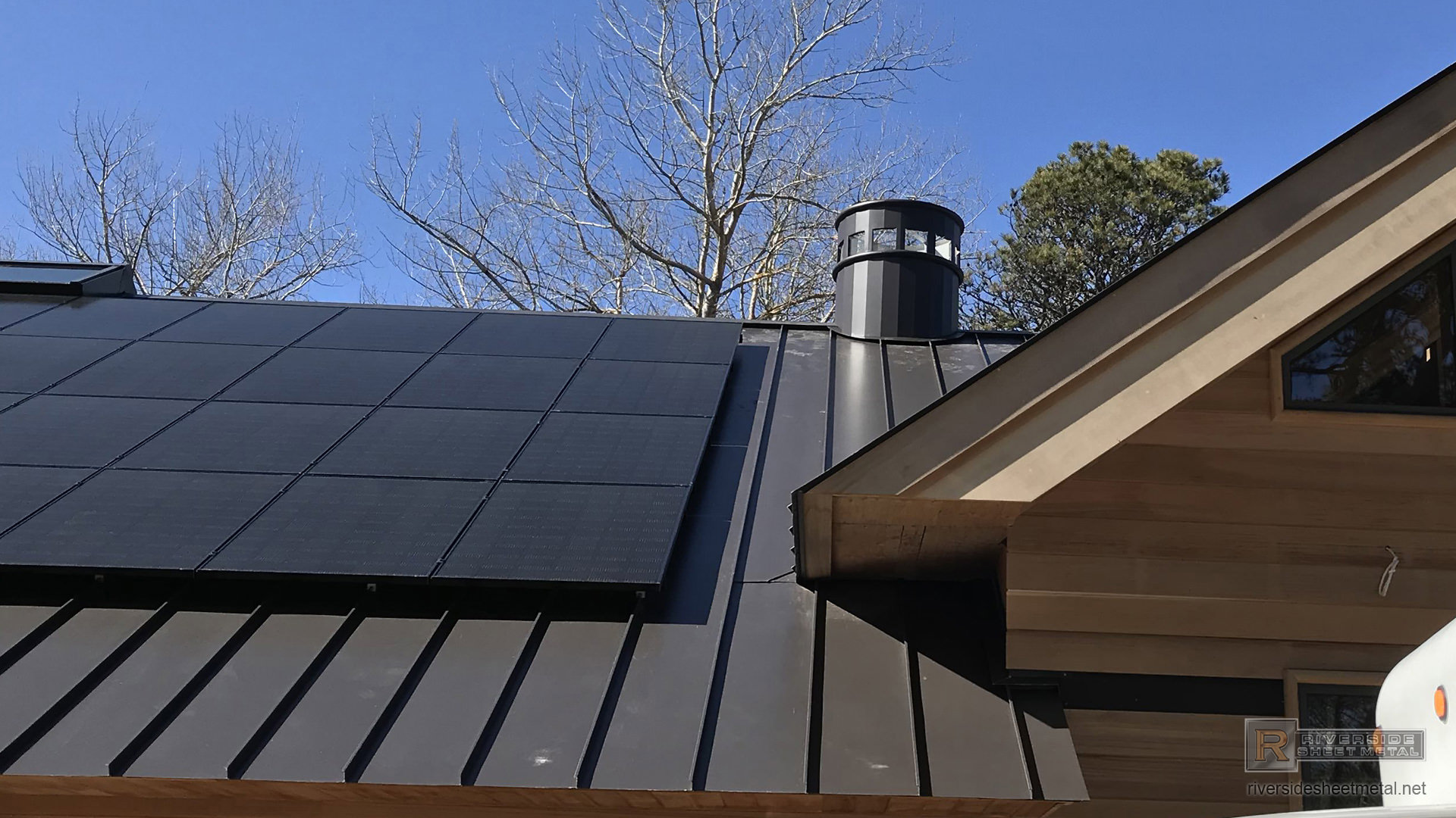Bronze Aluminum Kynar Standing Seam Roof With Custom