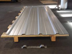 Custom made galvalume corrugated roof panels mathing old pieces
