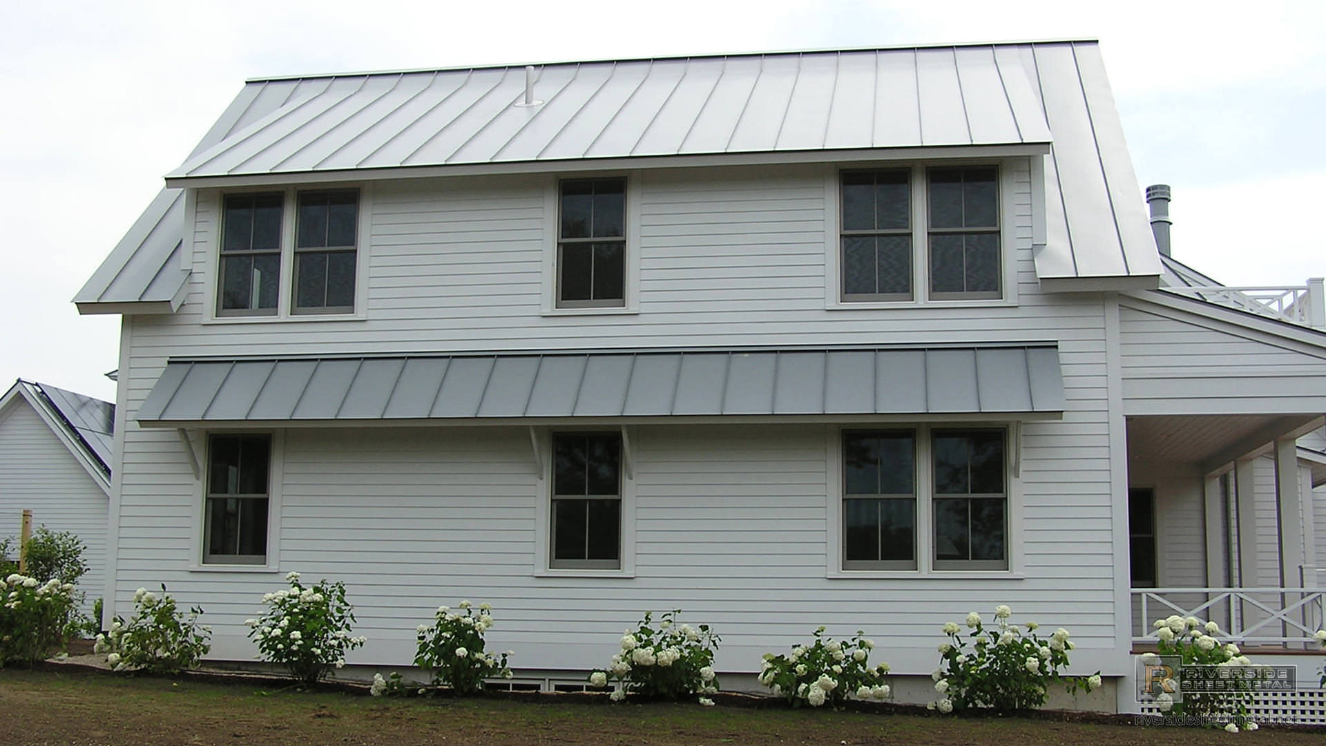 ... Dove Gray Standing Seam Metal Roofing Panels ...
