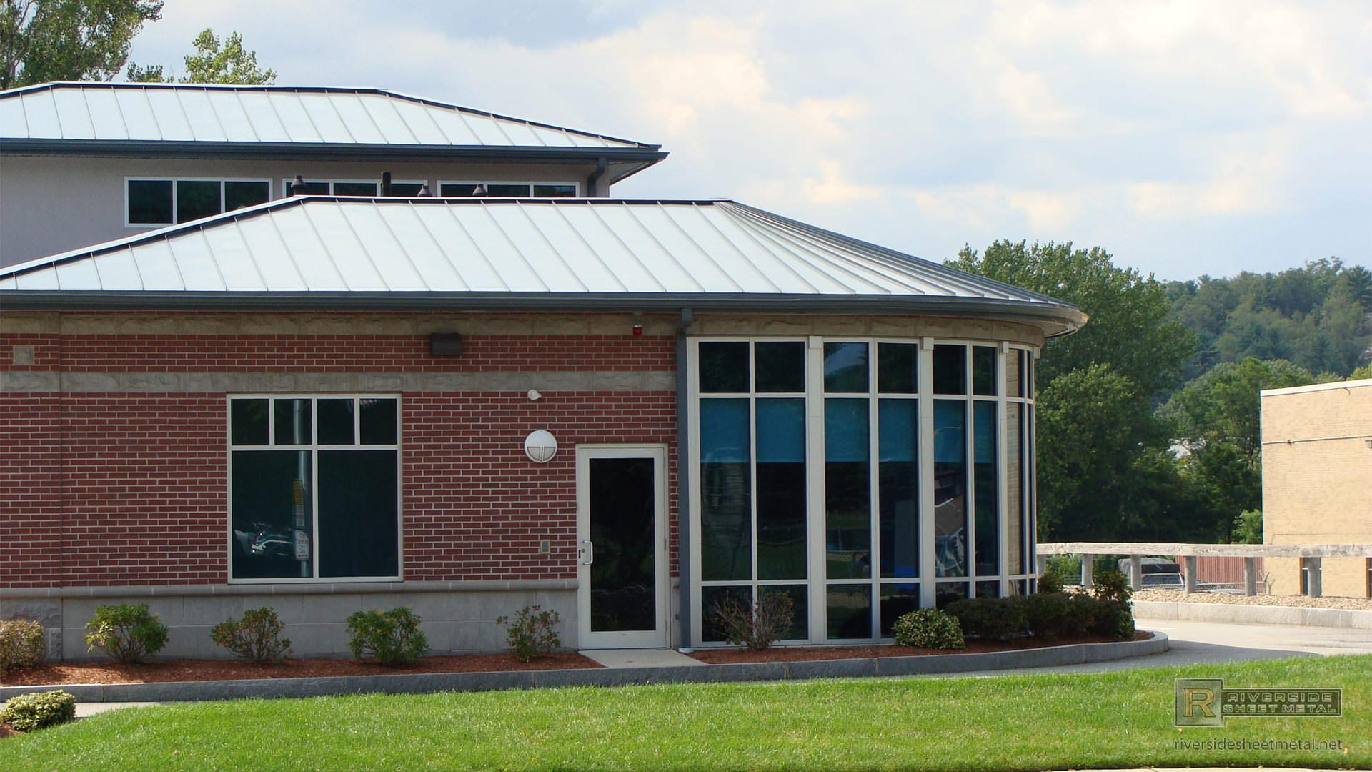 Slate Gray Aluminum Metal Roof Riverside Sheet Metal